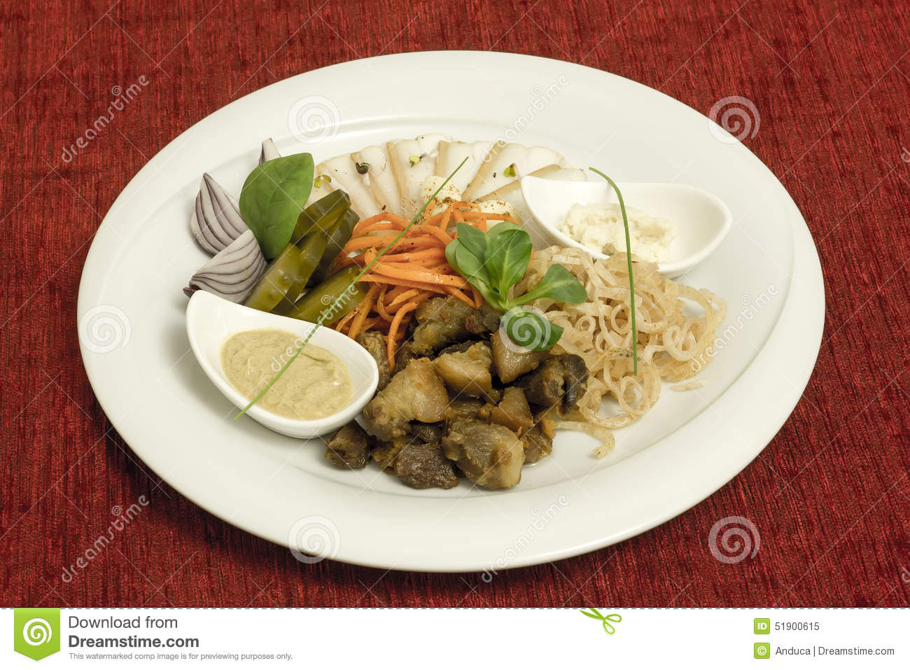 Traditional russian food stock photo image 51900615 for Authentic russian cuisine