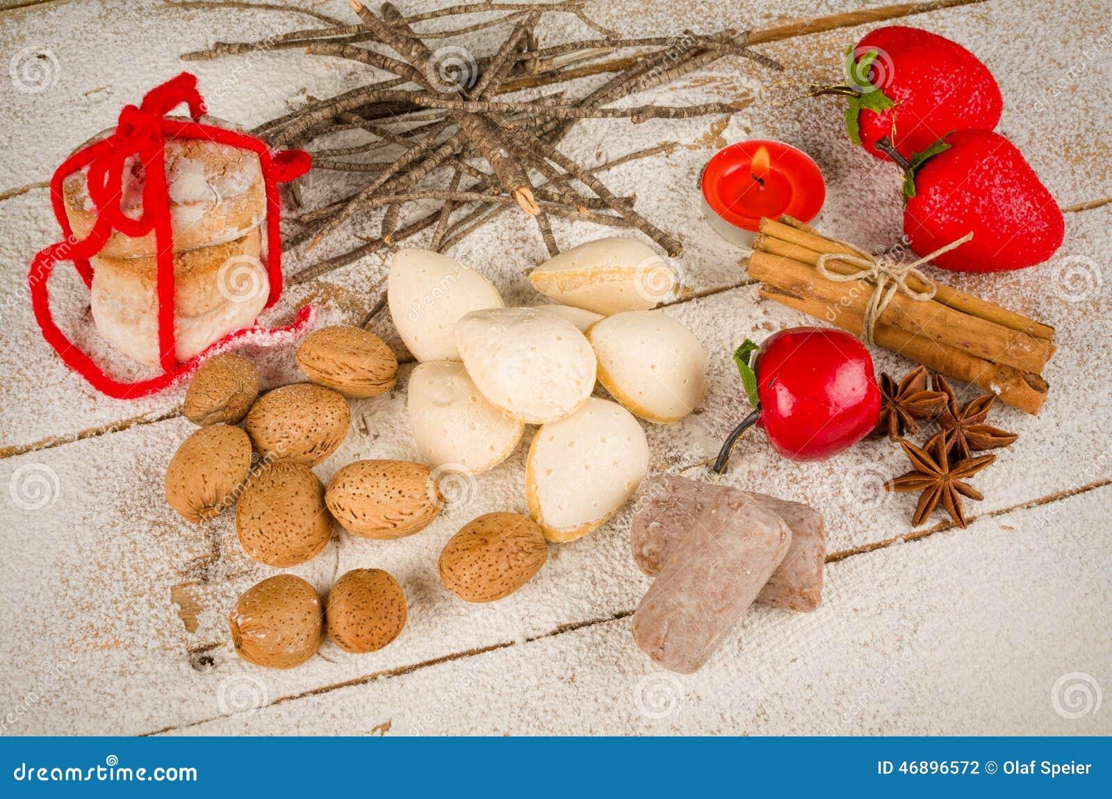 Traditional Spanish Christmas Cookies Stock Photo Image Of