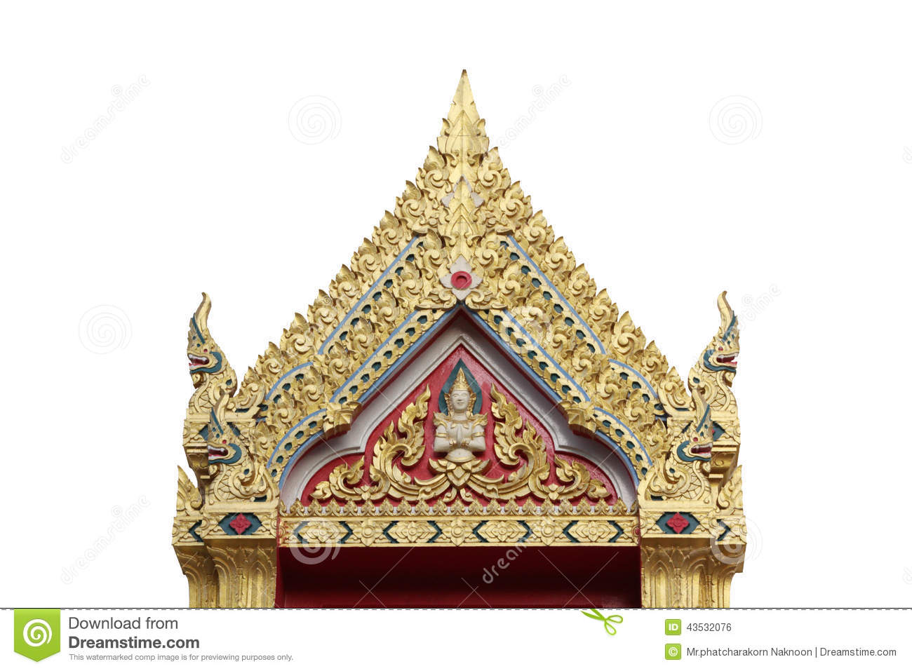 Traditional thai roofs and gables stock photo image for Architecture antique
