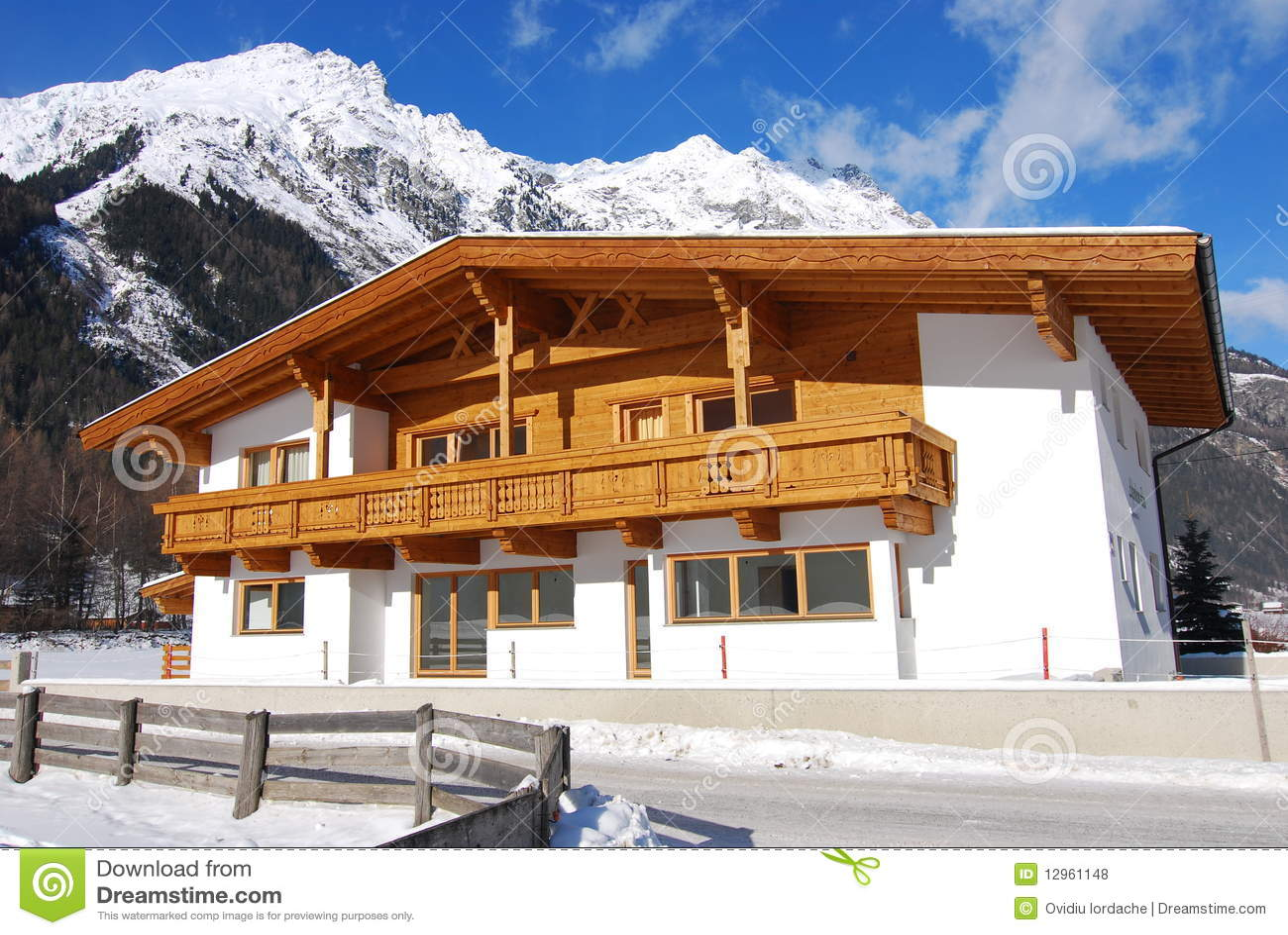 traditional tirol house royalty free stock photos image
