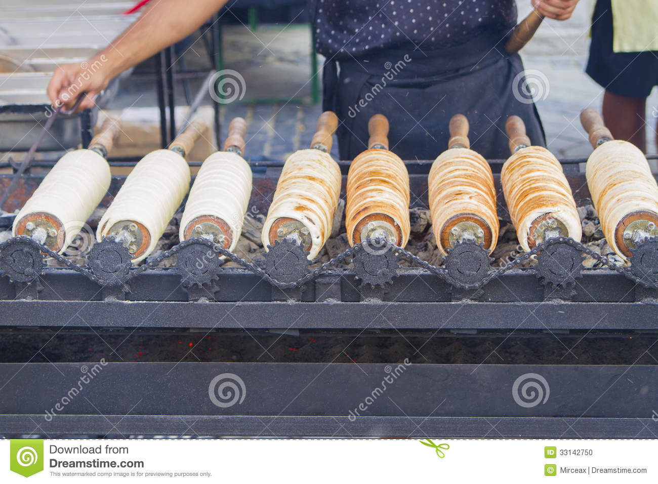 Traditional Transylvanian Cakes Stock Photo Image Of