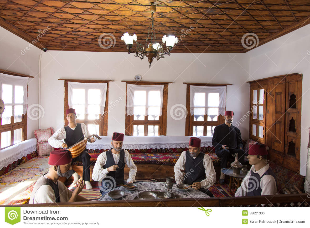Traditional Turkish House In Safranbolu Town Editorial
