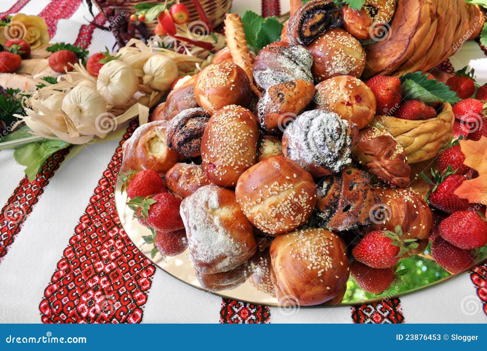 Traditional ukrainian dessert food