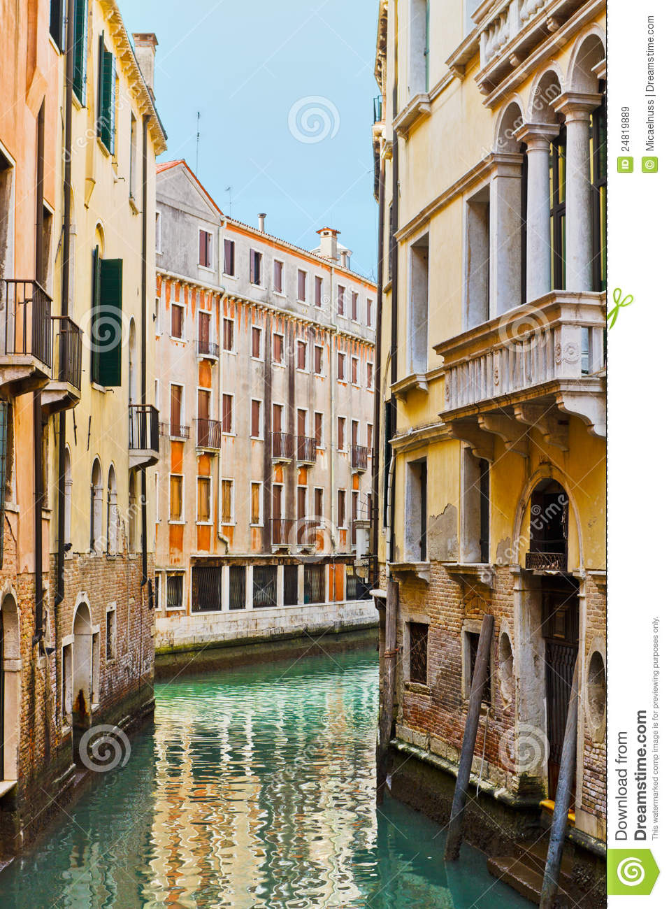Royalty-Free Stock Photo. Download Traditional Venetian Buildings ...
