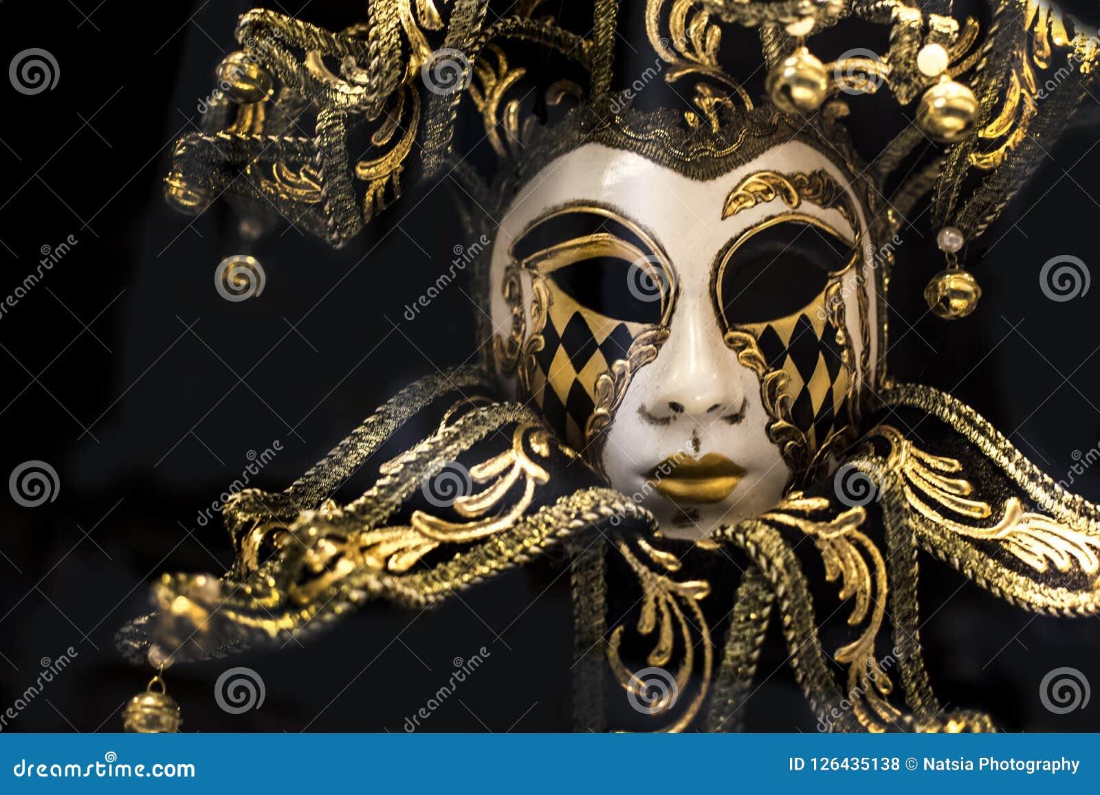 Traditional venetian carnaval mask.
