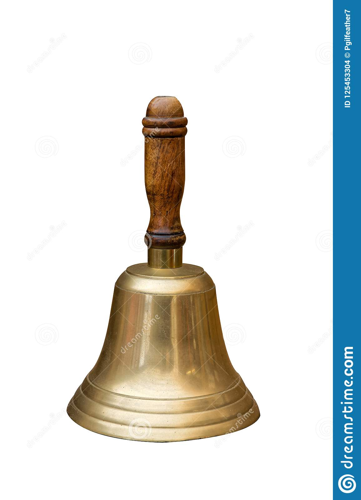 Traditional Vintage school janitor Hand Bell