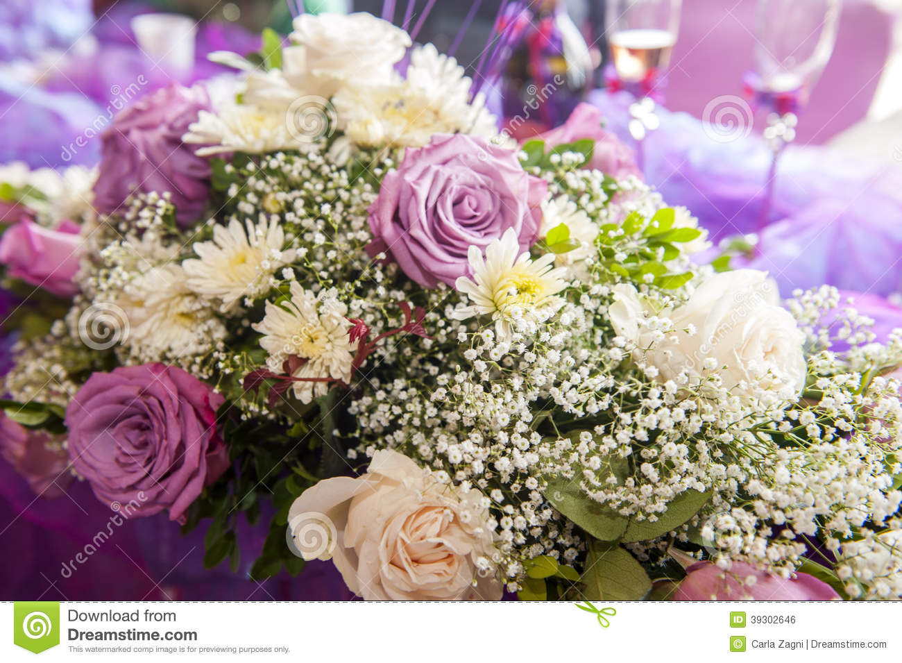 Traditional Wedding Flowers Pictures : Traditional wedding flowers stock photo image