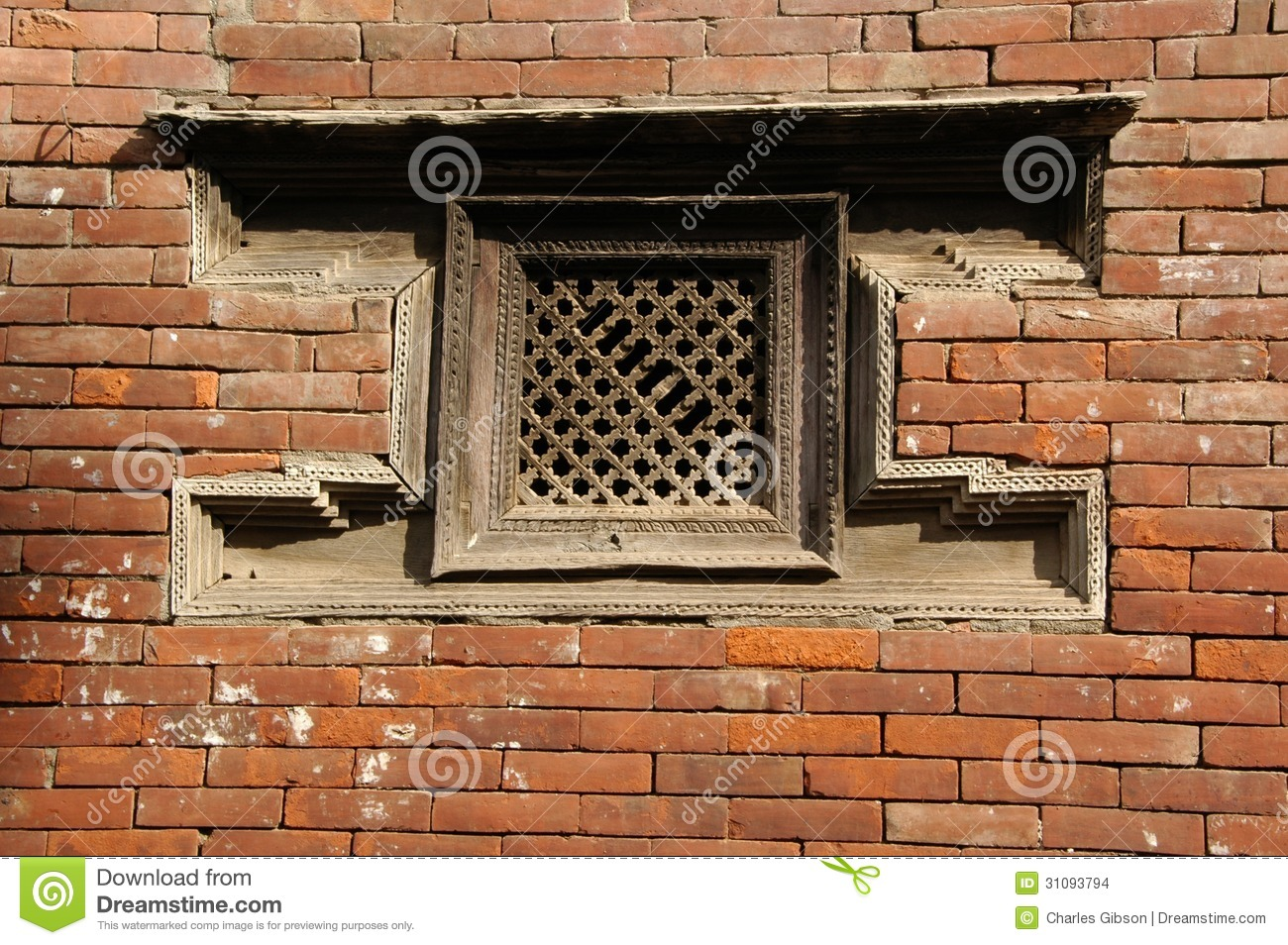 Traditional window architecture stock images image 31093794 for Window design in nepal