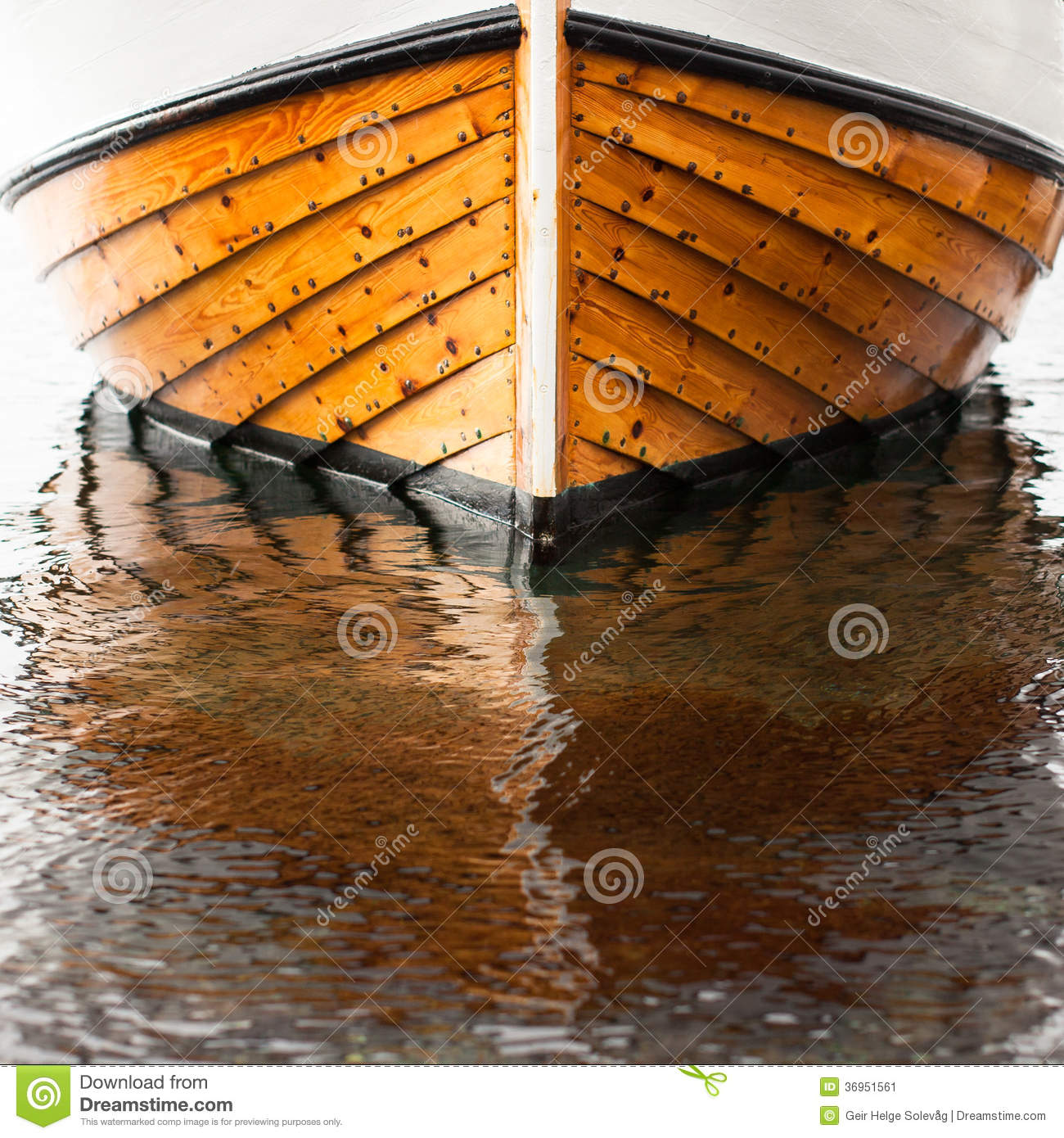 Traditional Wooden Fisher Boat From Norway Stock Image - Image: 36951561