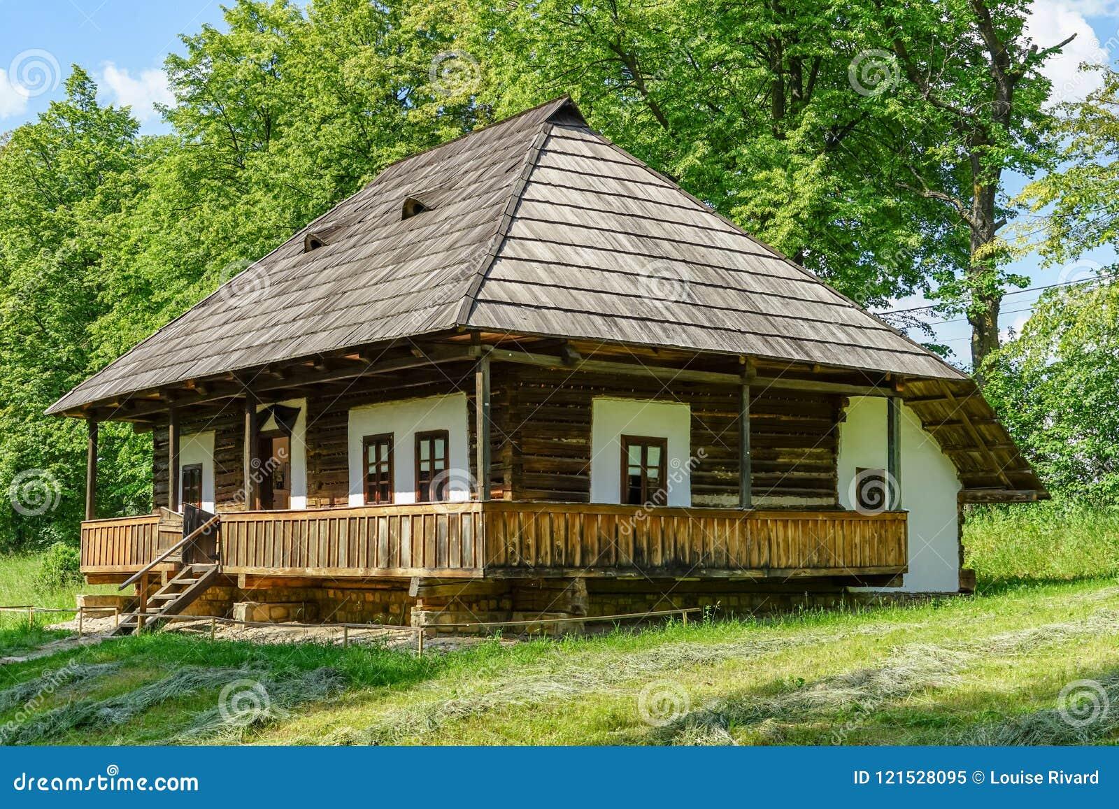 Traditioneel dorpshuis in Targu Neamt