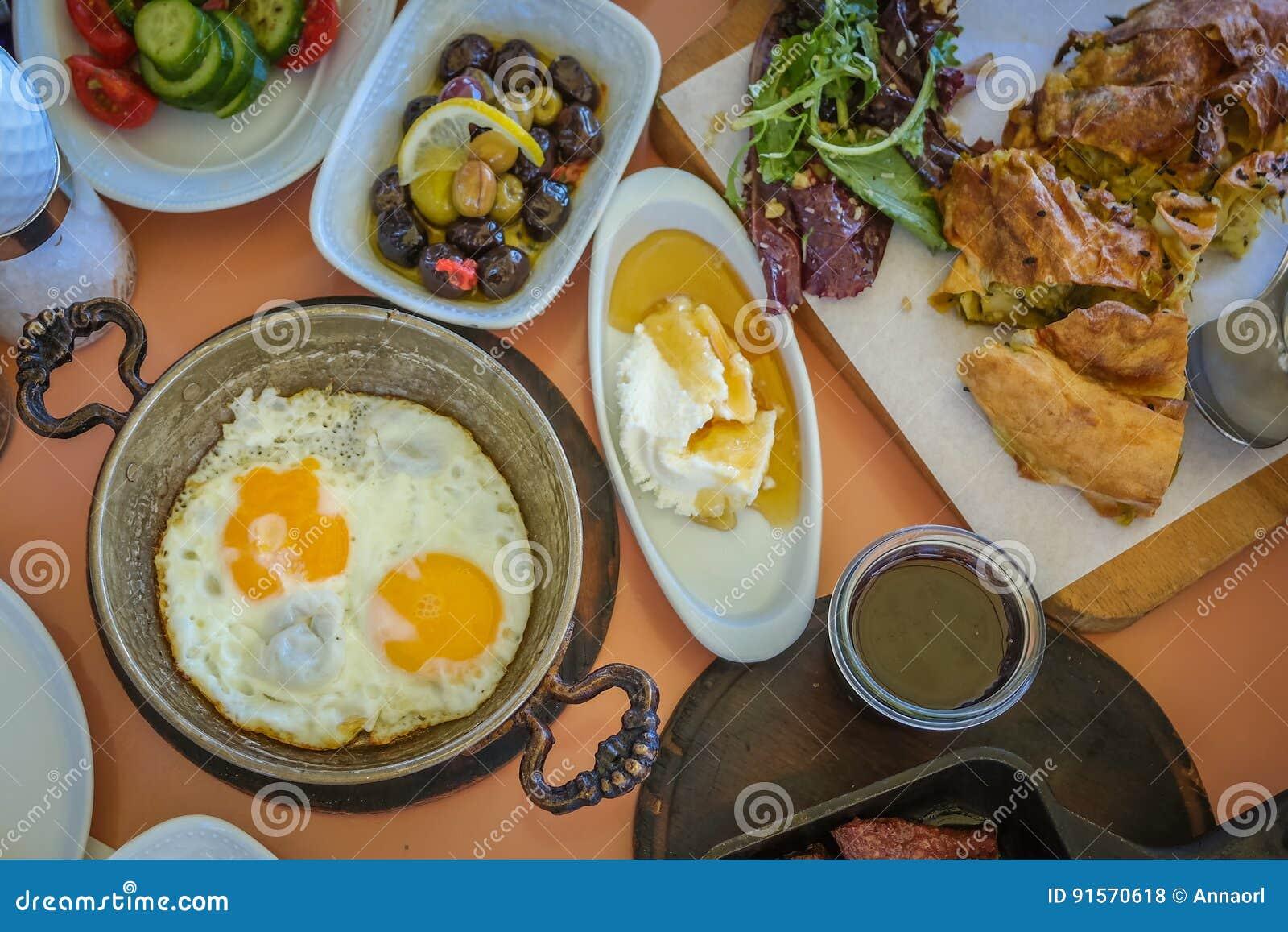 ontbijt opties