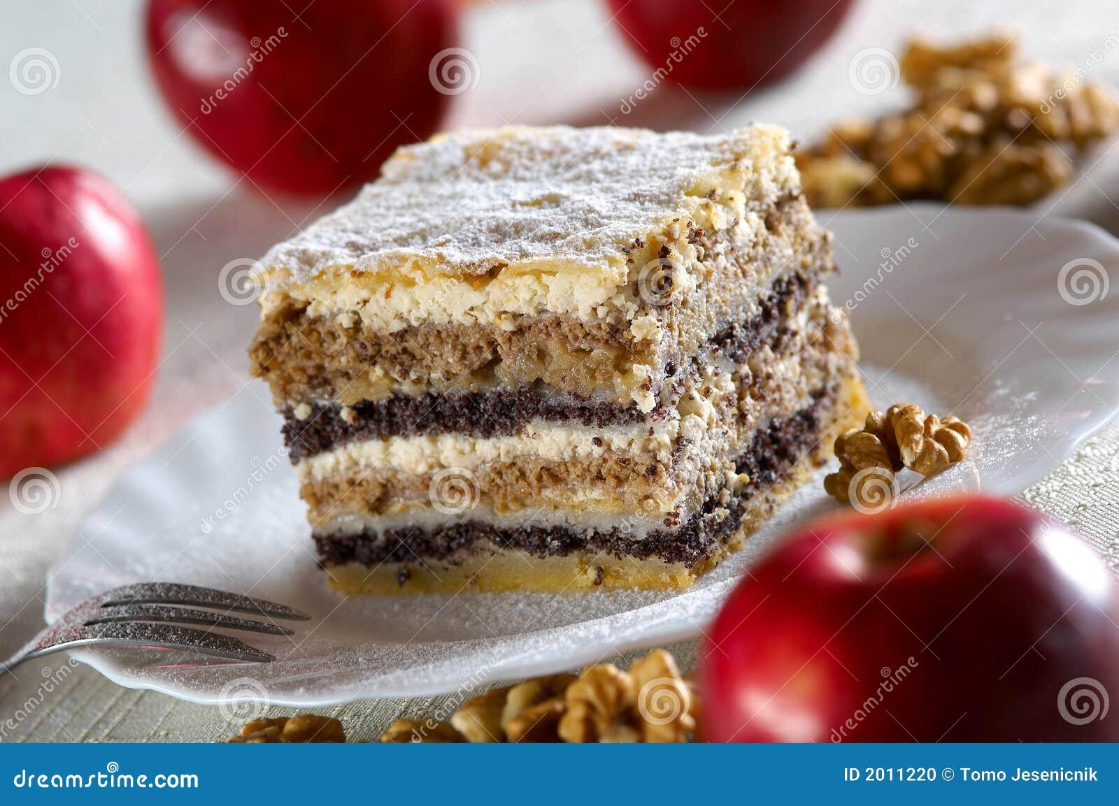 Traditionele cake van Slovenië