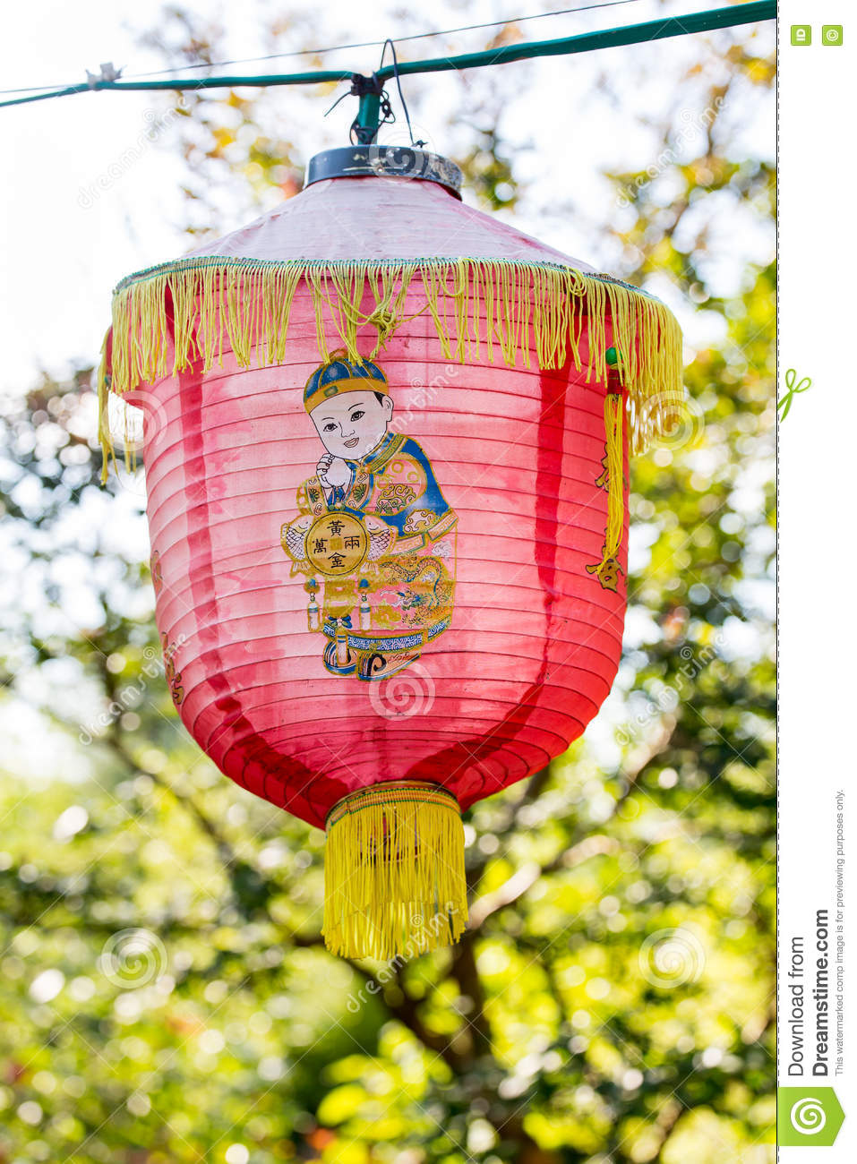 Traditionele Chinese lantaarn