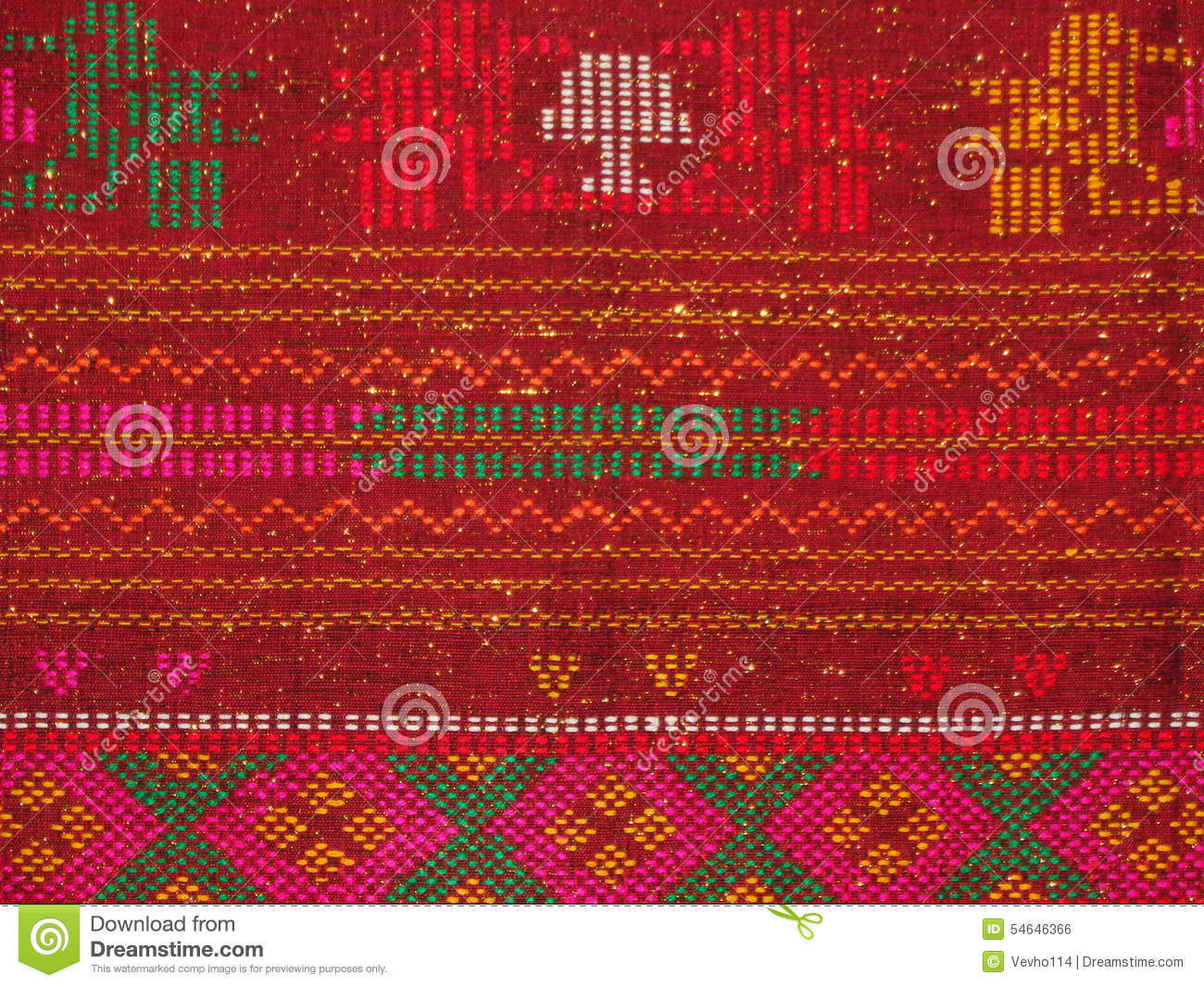 Pattern Of Indonesian Songket Illustration - Download Free ...