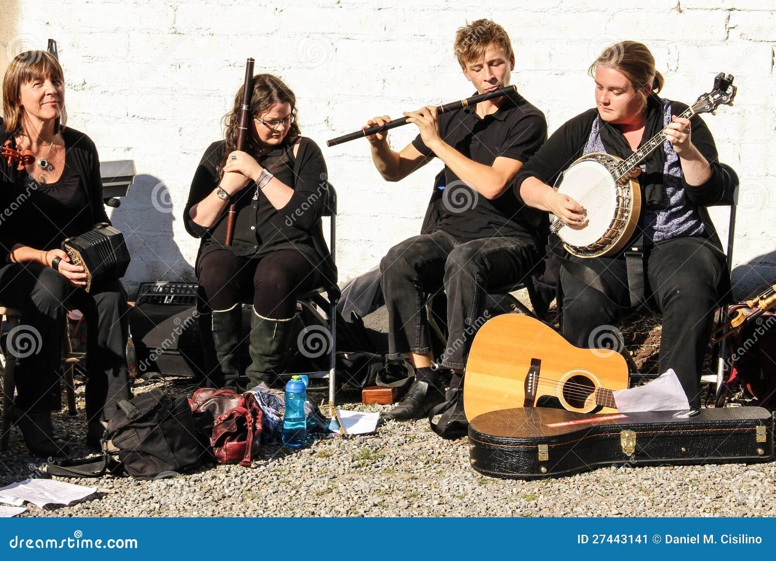 Traditionele Ierse muziek en dans