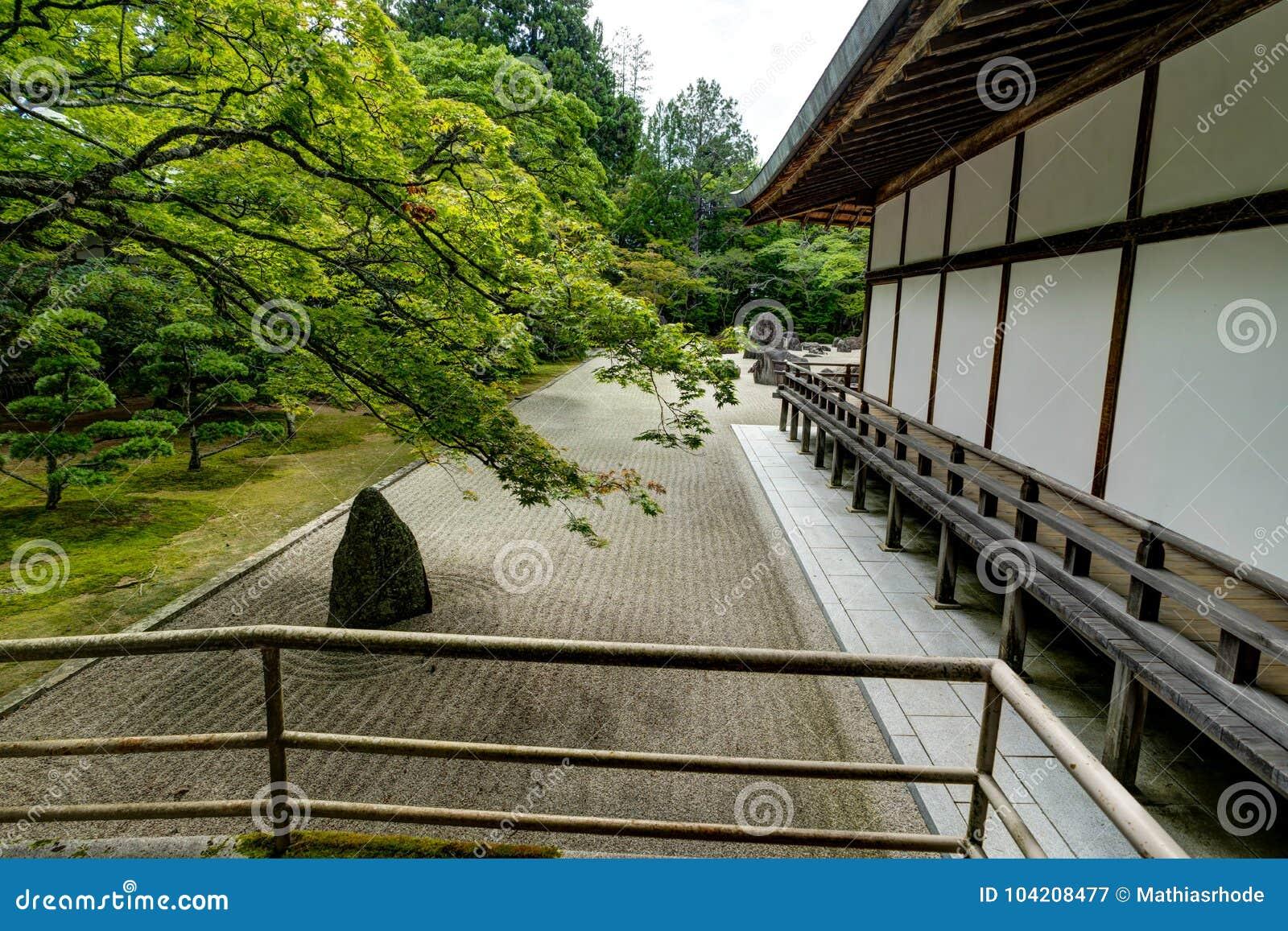 Traditionele Japanse de Woningbouwtempel van de Kongobujitempel met