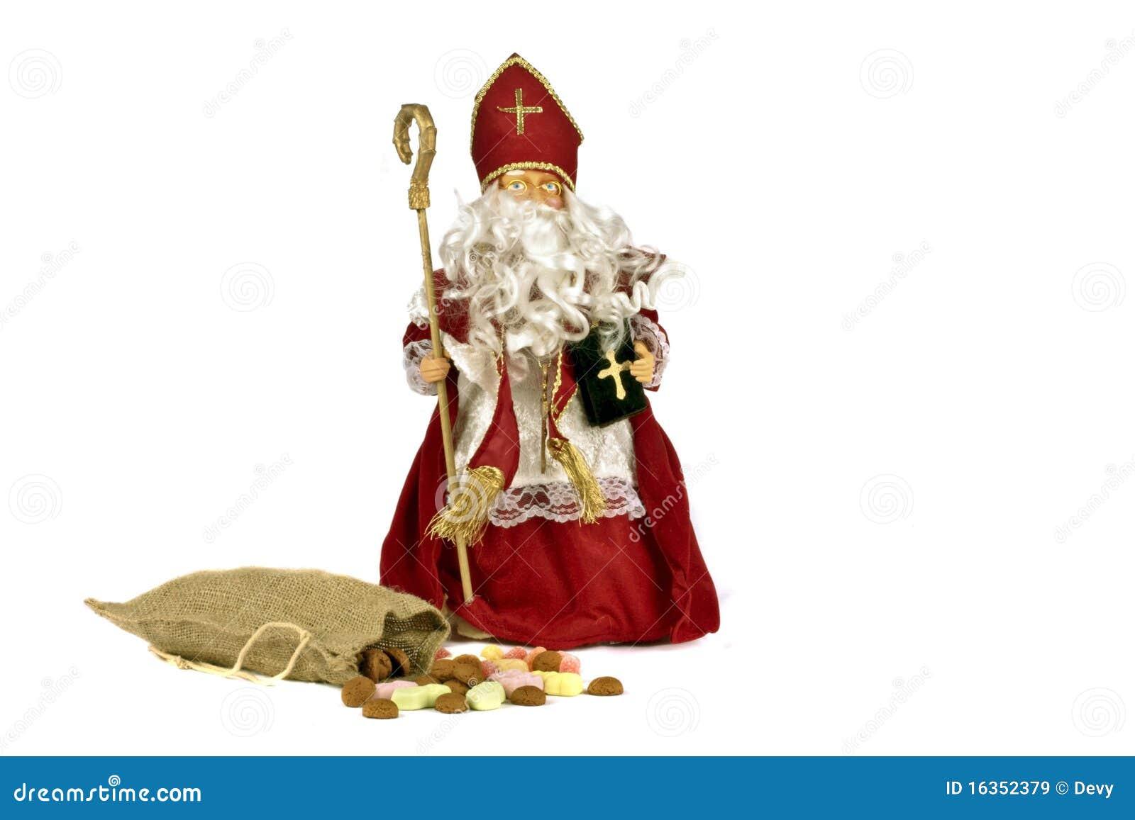 Traditionele Nederlandse Cultuur Het Feest Van De Kerstman Stock Afbeelding Afbeelding Bestaande Uit Winter Gember 16352379