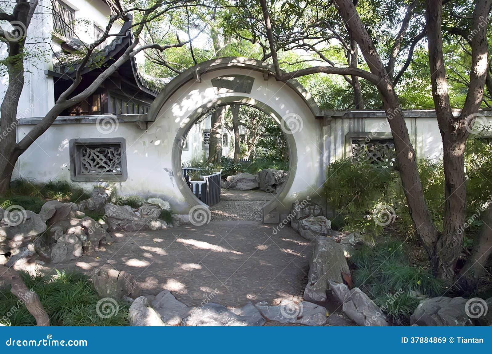 Traditionele ronde poort