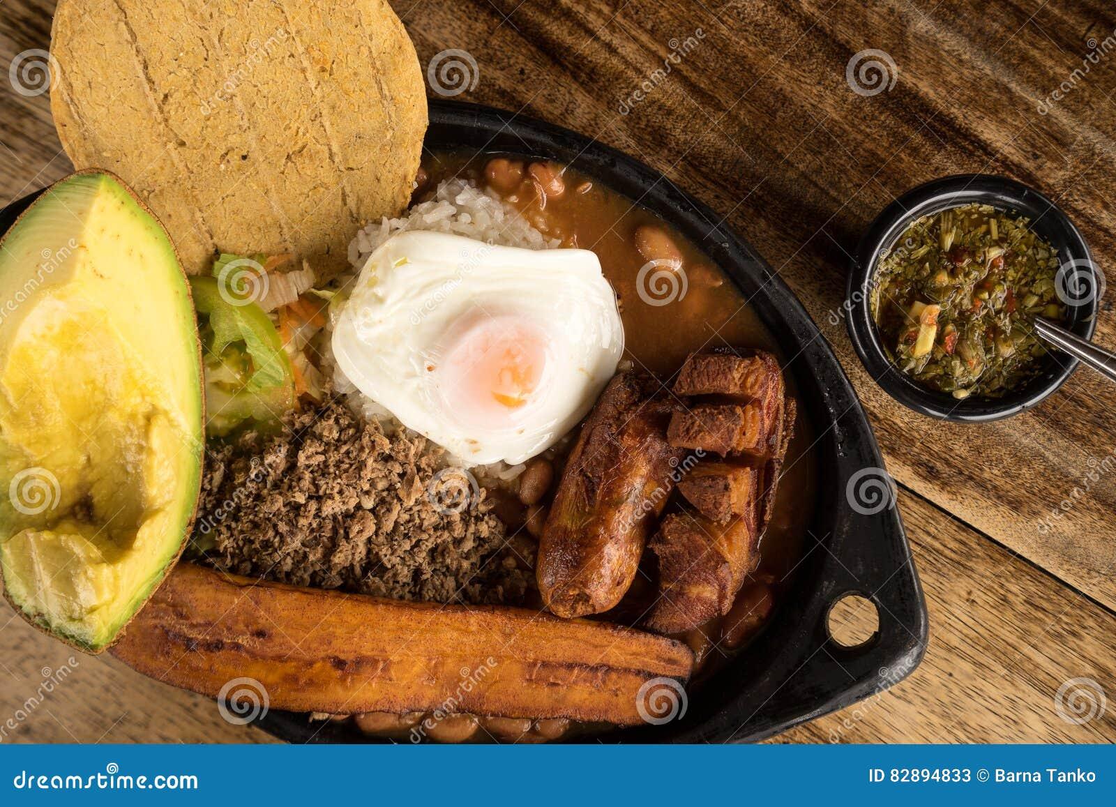 Colombiansk mat