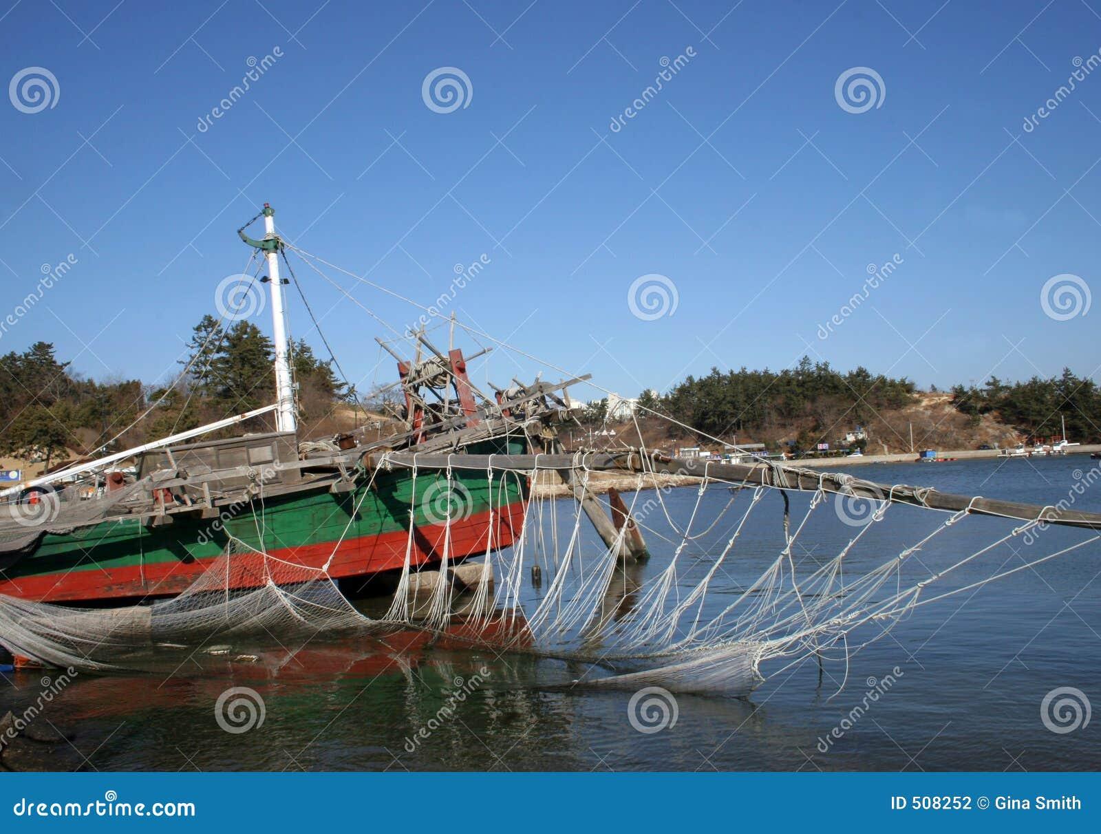 Traditionell fartygkorea räka