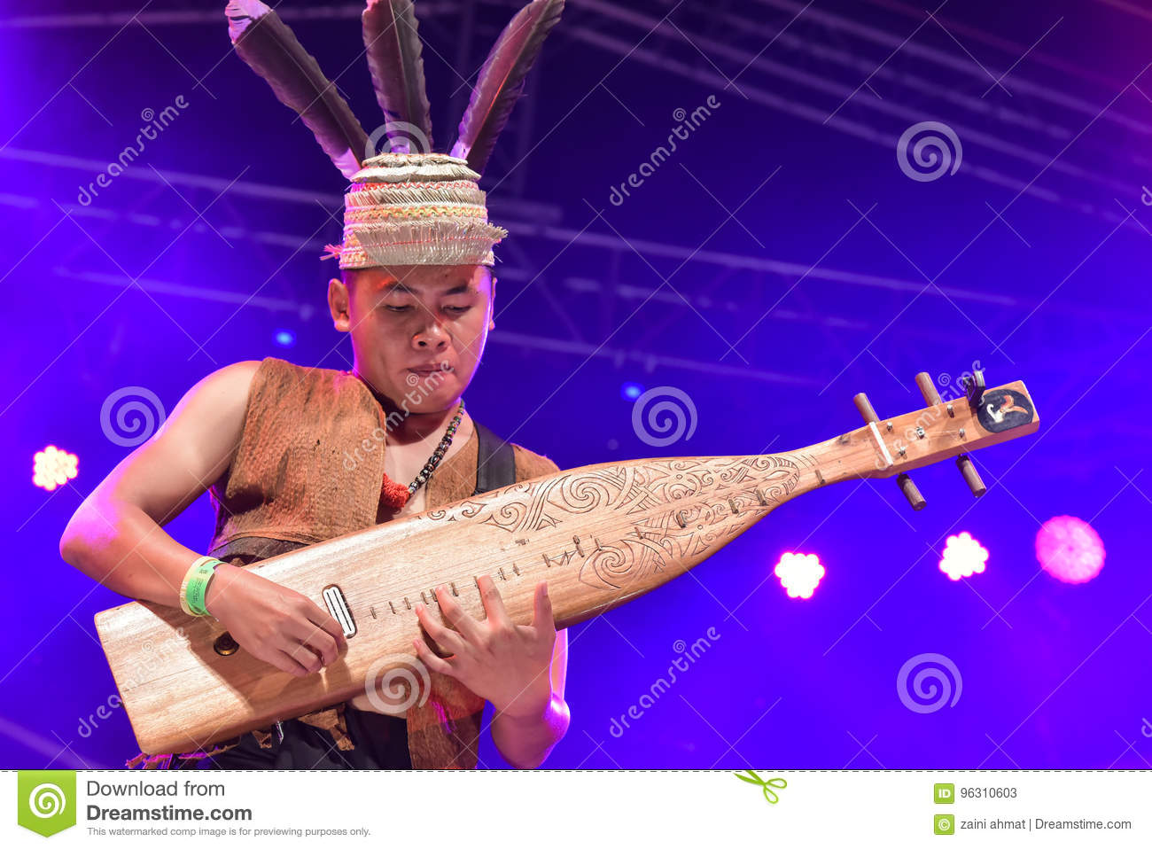 Traditionell musik Sape