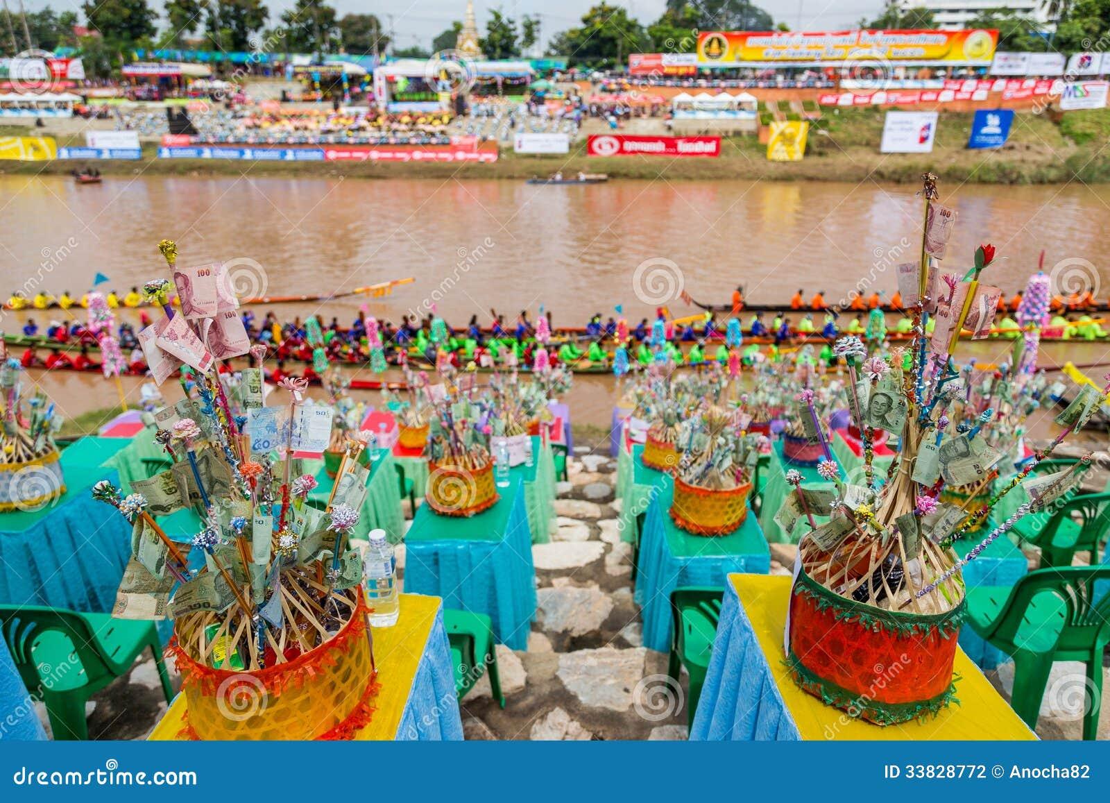 Traditionella festivaler   Fartyglopp varje år 21 till 22 September, Phitsanulok Thailand