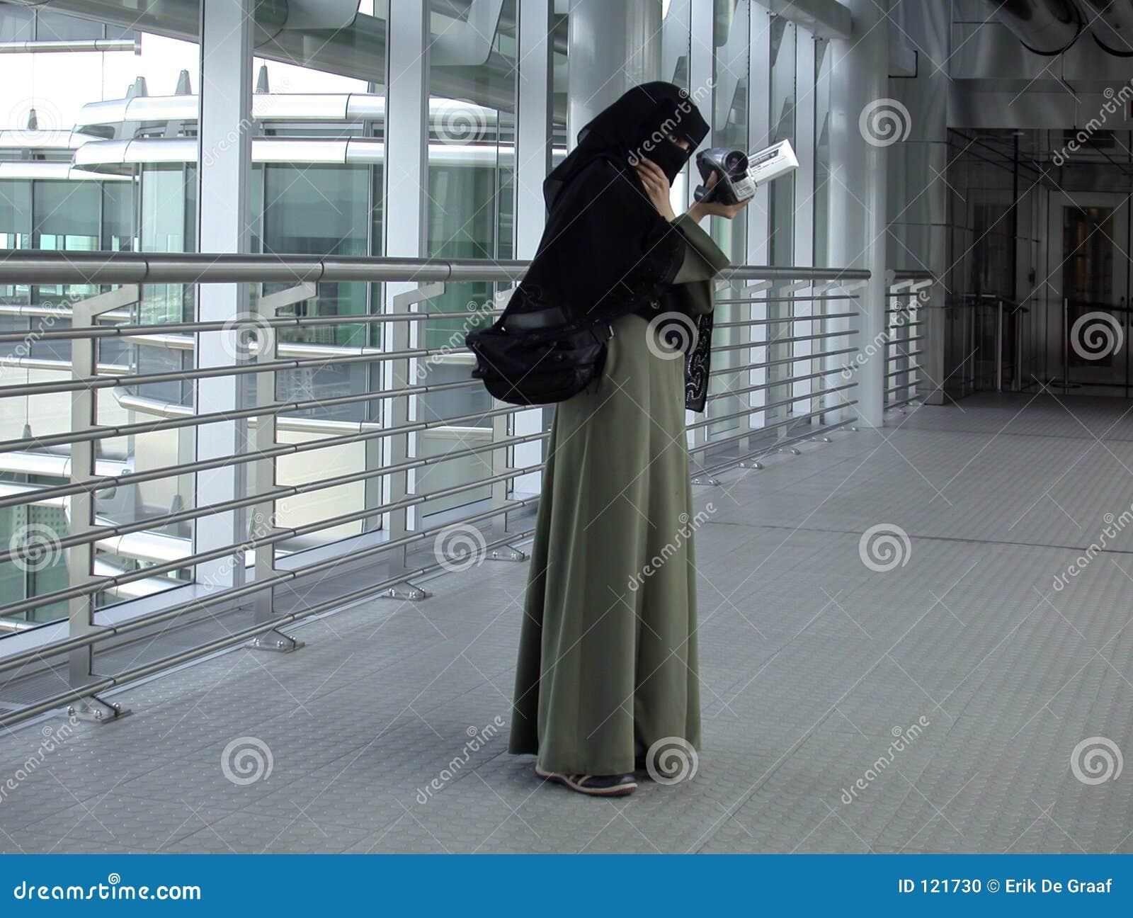 Traditionelle arabische Frau