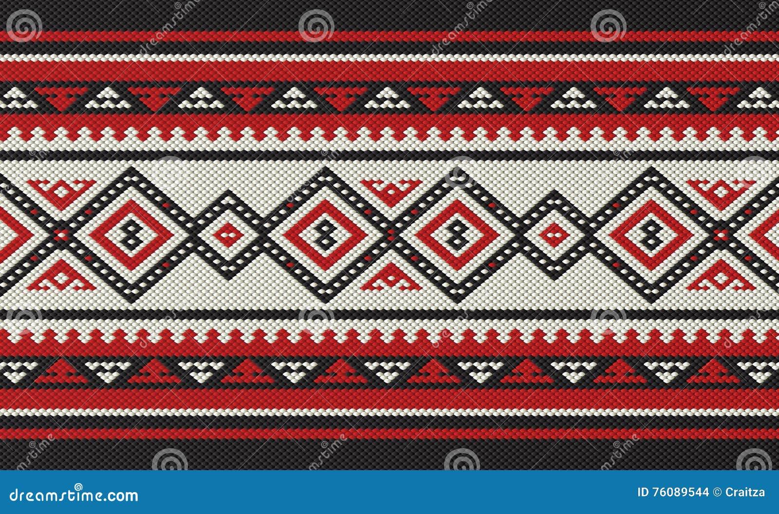 traditionelle arabische handspinnendes muster völker sadu