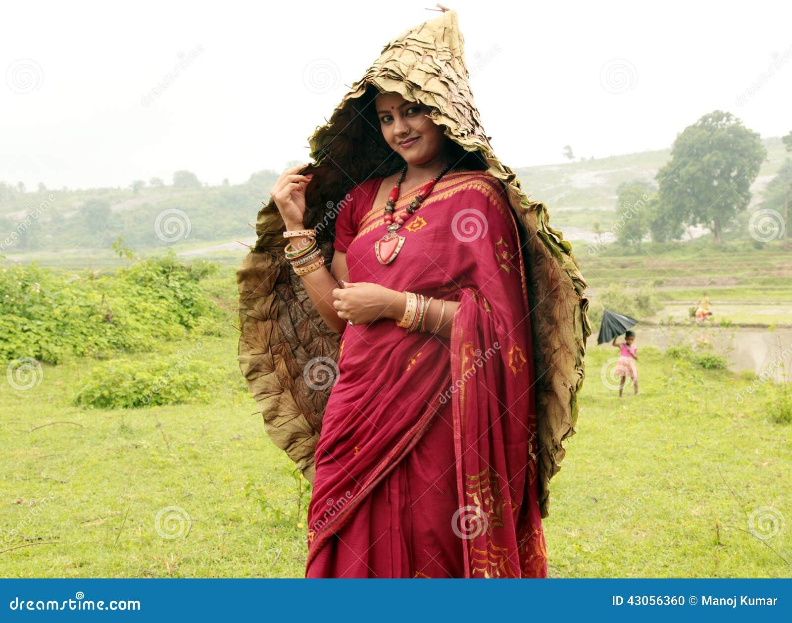 Traditionelle Frau