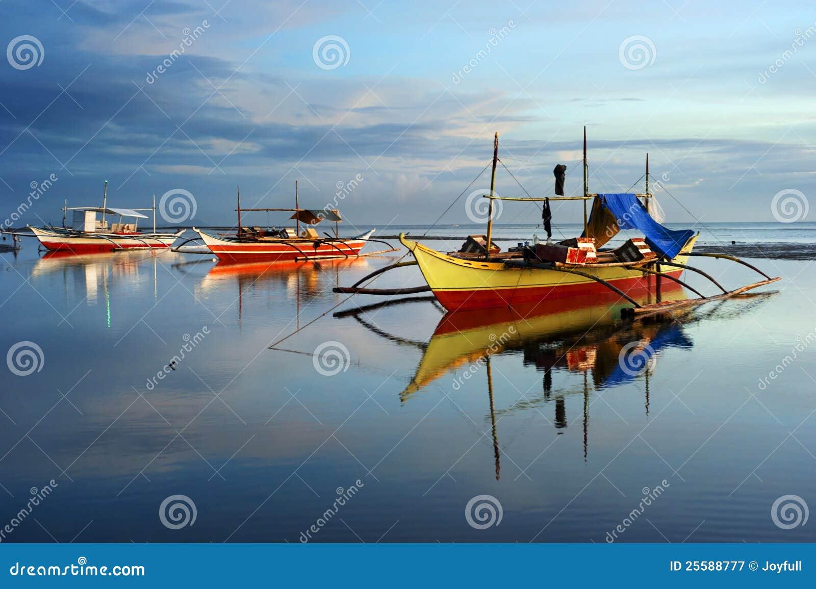 Traditionelle Philippinen-Boote