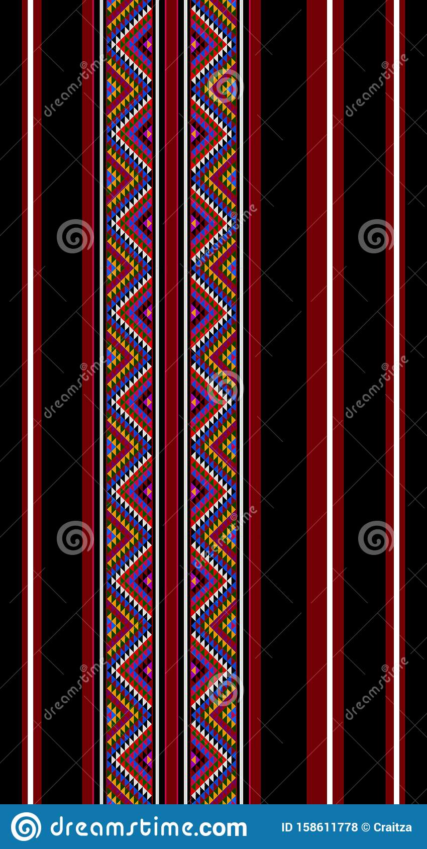 traditionelle sadustylehandweving arabische muster stock