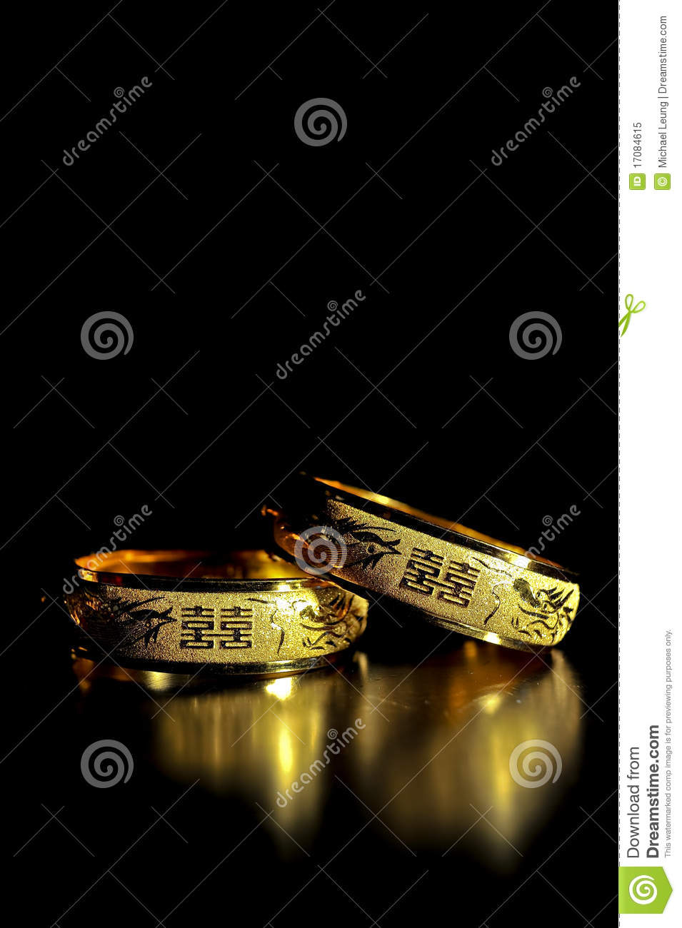 Traditioneller Chinese-Goldhochzeits-Armband