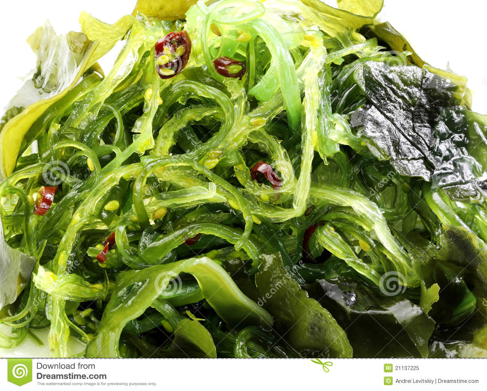 Traditioneller Japanischer Salat Stockbild Bild Von Gesund