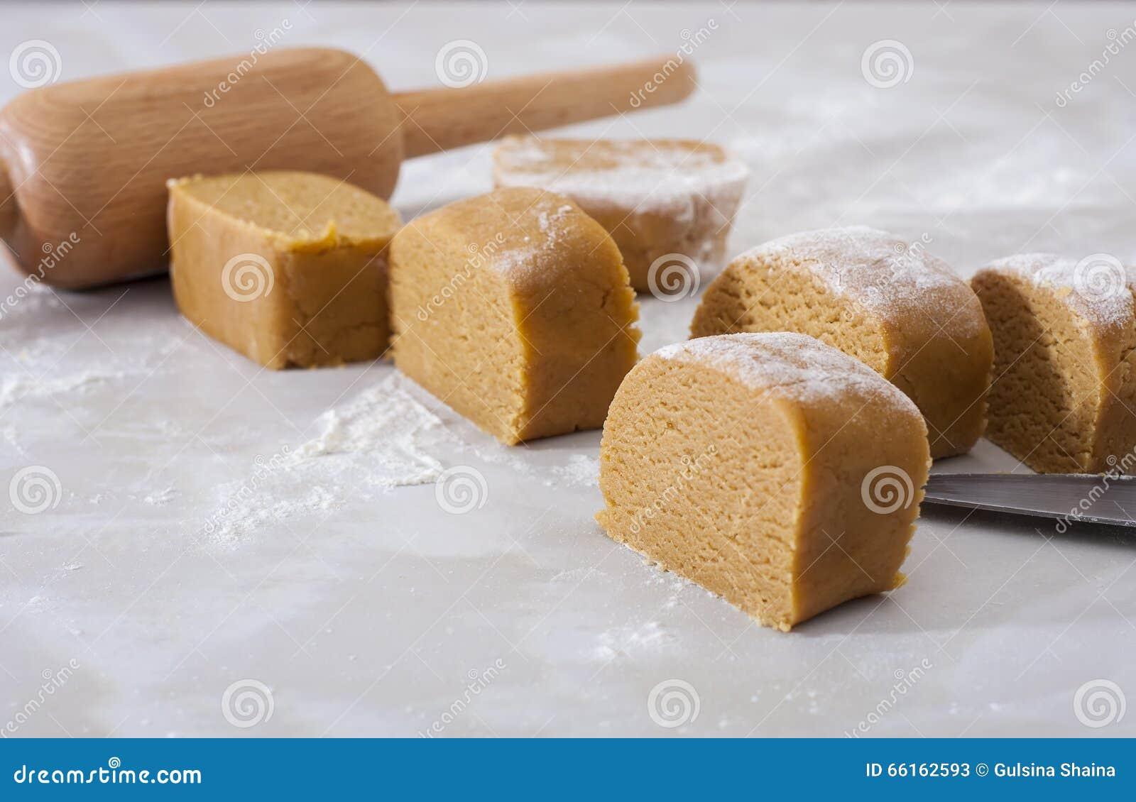 Traditioneller Selbst Gemachter Russischer Kuchen Medovik Mit Honig
