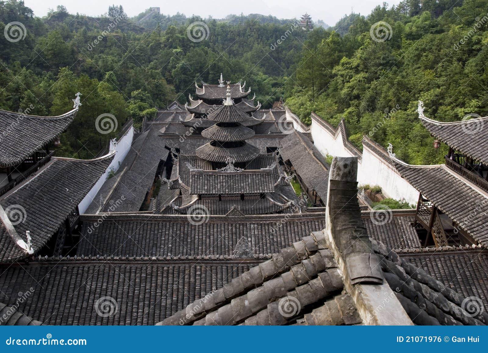 Traditionelles haus in china lizenzfreies stockbild bild for Traditionelles haus