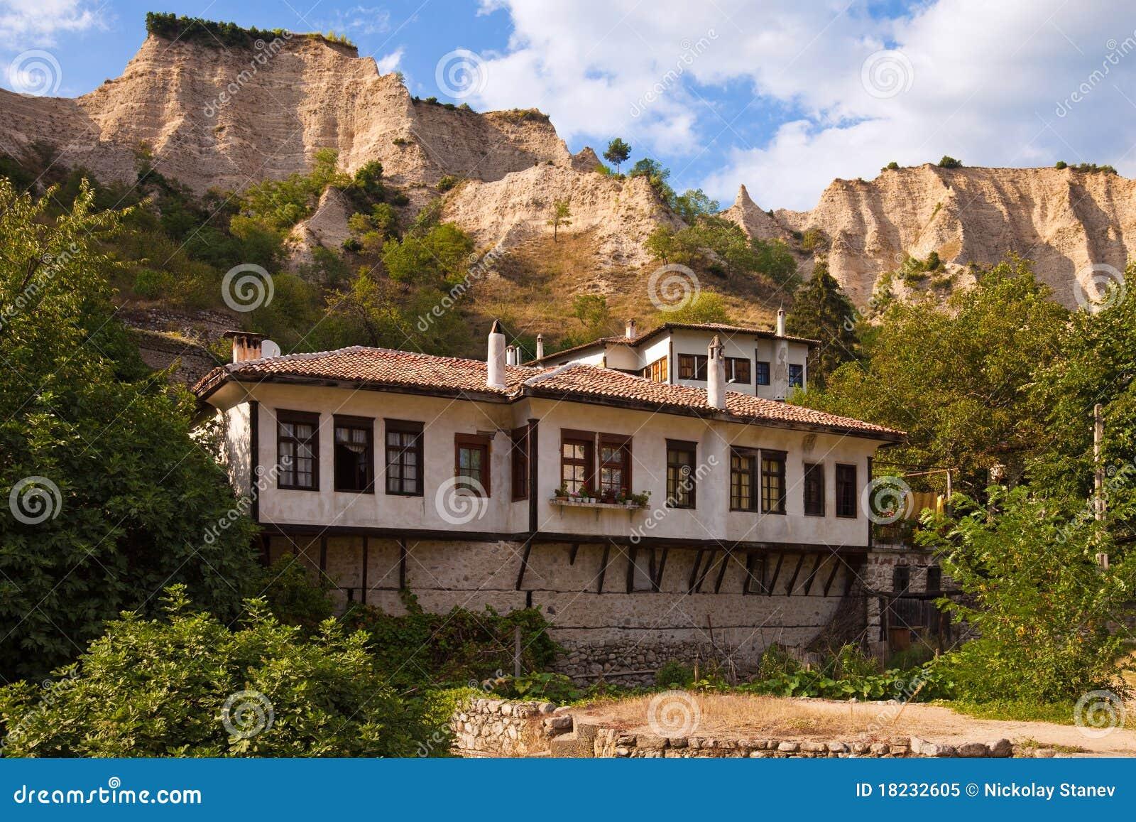 Traditionelles Melnik Haus