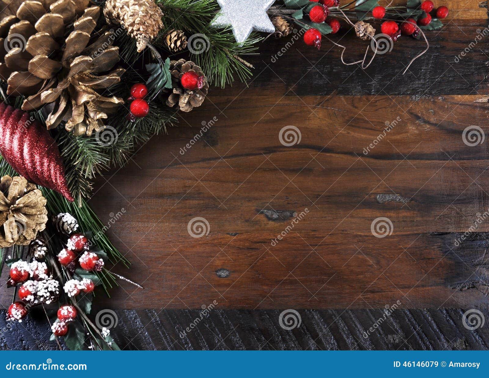 Traditionnel fond bonnes fêtes et de Noël