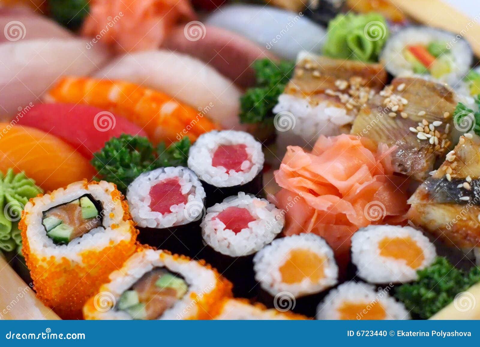 Traditionnel japonais de nourriture photo stock image for Poisson japonais nourriture