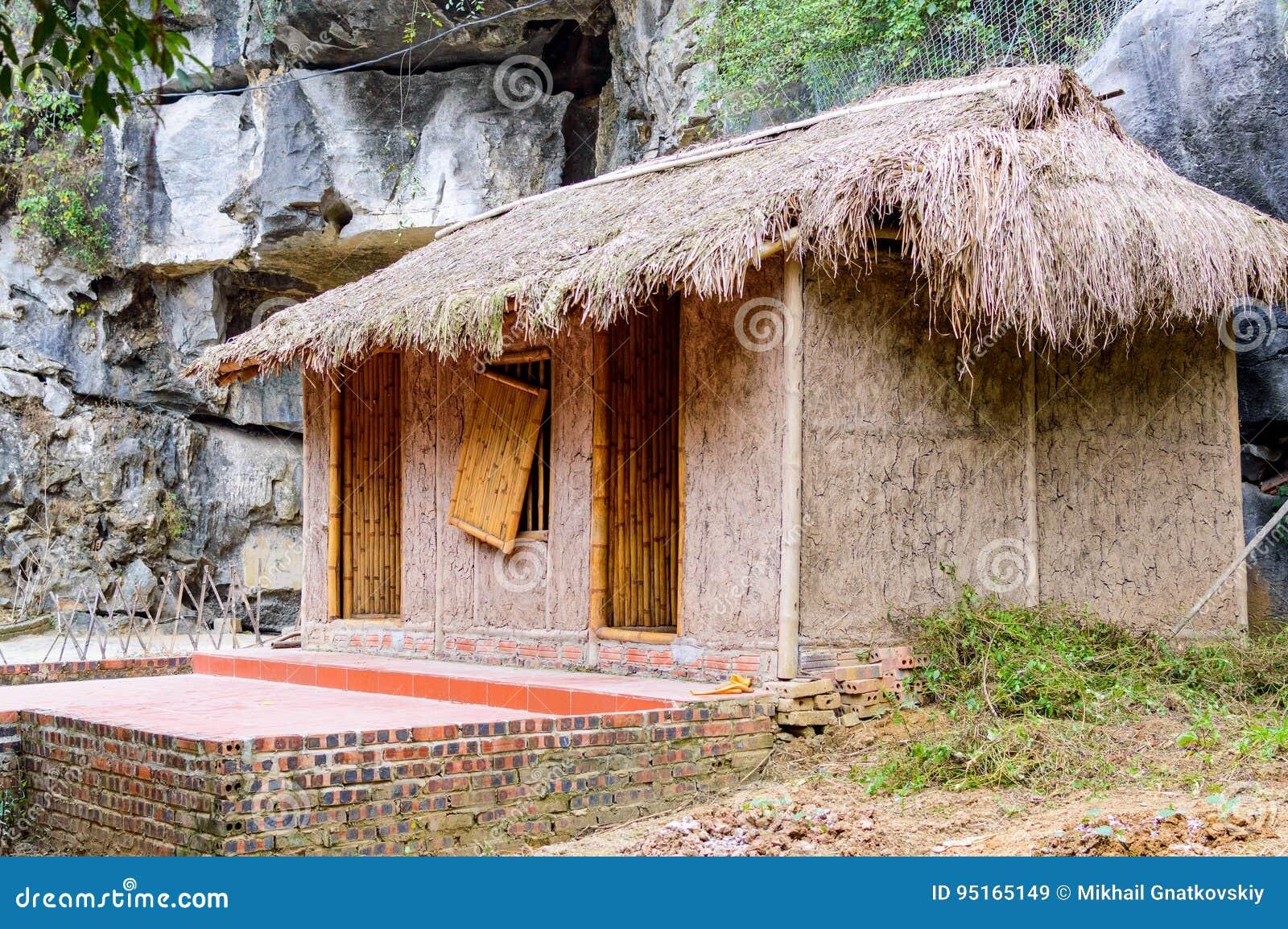 Tradycyjna azjatykcia buda lub dom