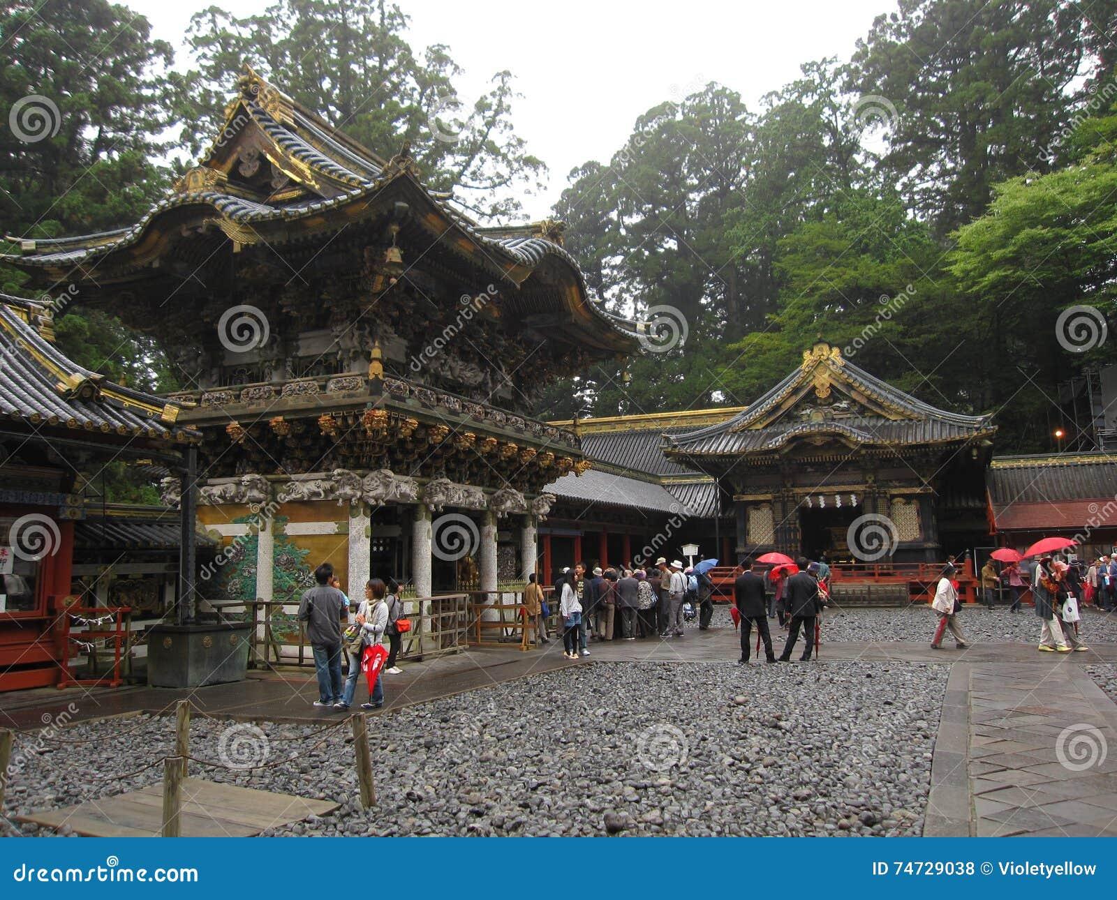 Tradycyjne Japońskie świątynie i świątynie