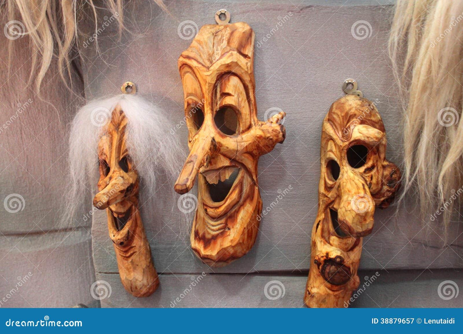 Tradycyjne romanian maski
