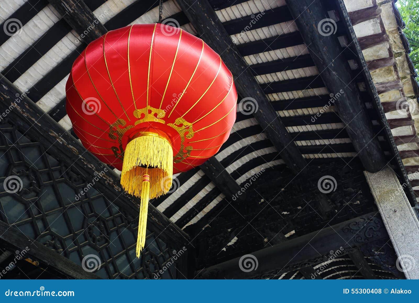 Tradycyjni Chińskie rewolucjonistki lampion