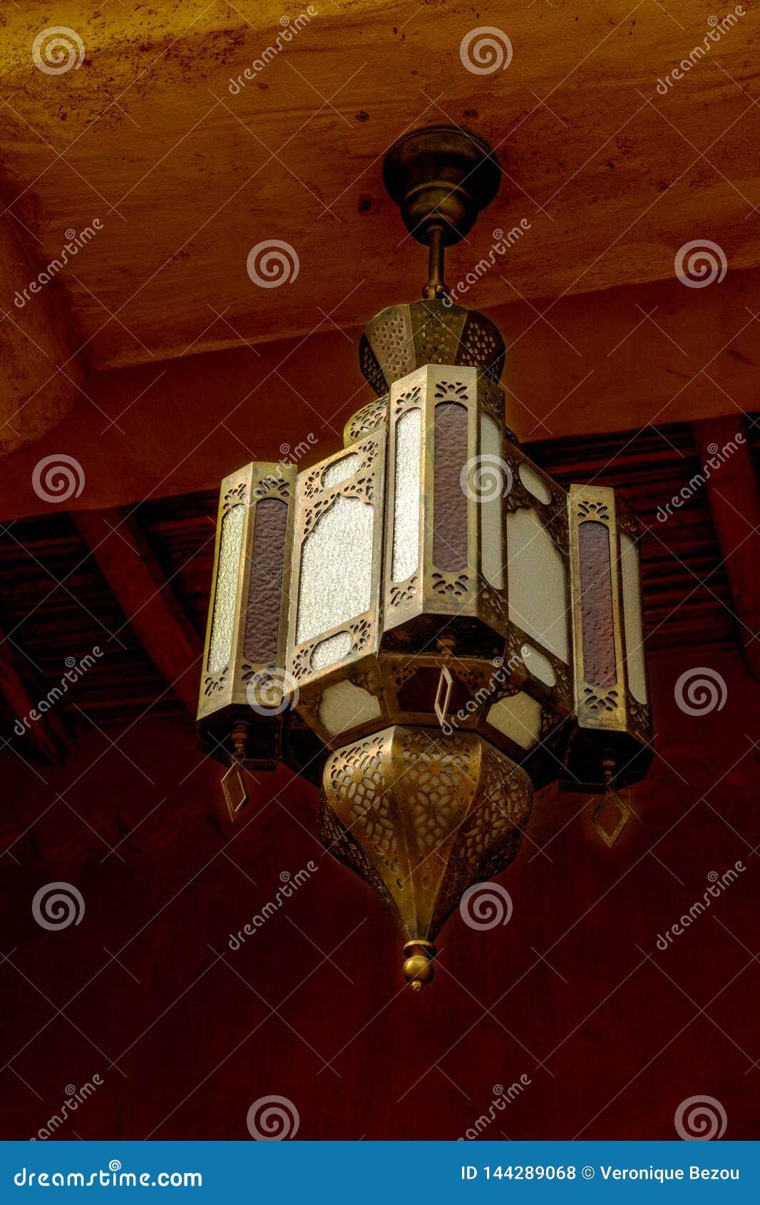 Tradycyjny Arabski lampion w Dubaj, Zjednoczone Emiraty Arabskie