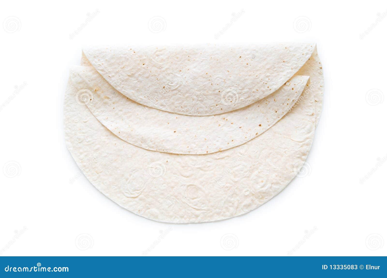Tradycyjny azerijski lavash odizolowywał (chleb)