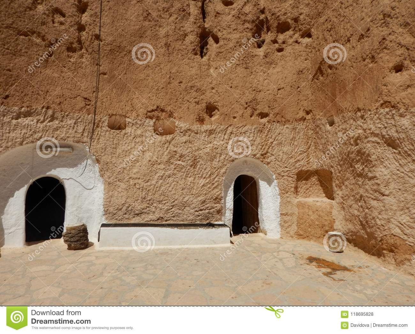 Tradycyjny dom Berbers, Tunezja