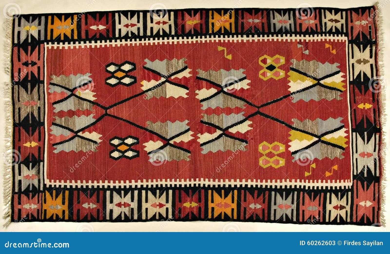 Tradycyjny handmade Turecki dywan
