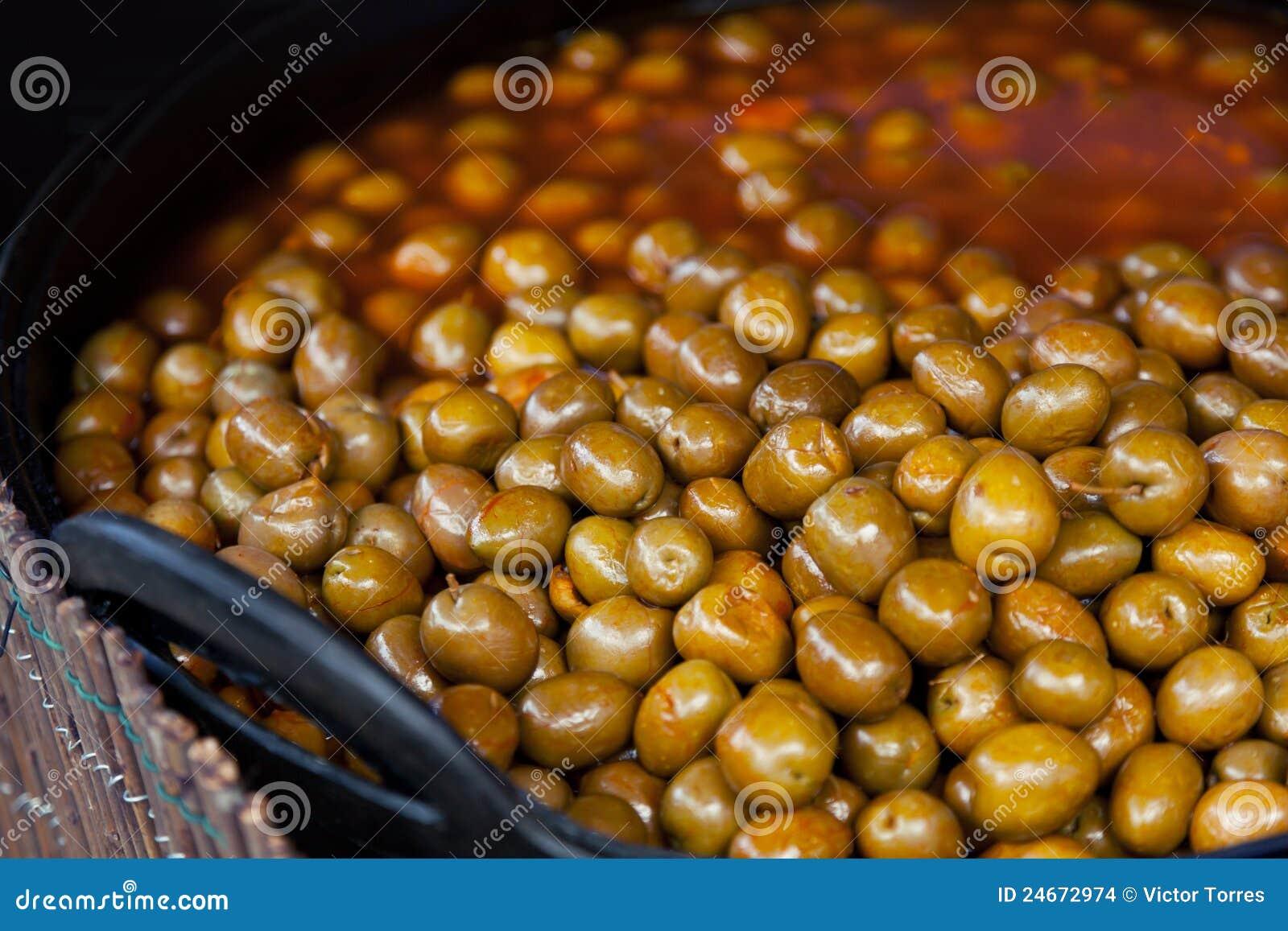 Tradycyjny oliwek spanish