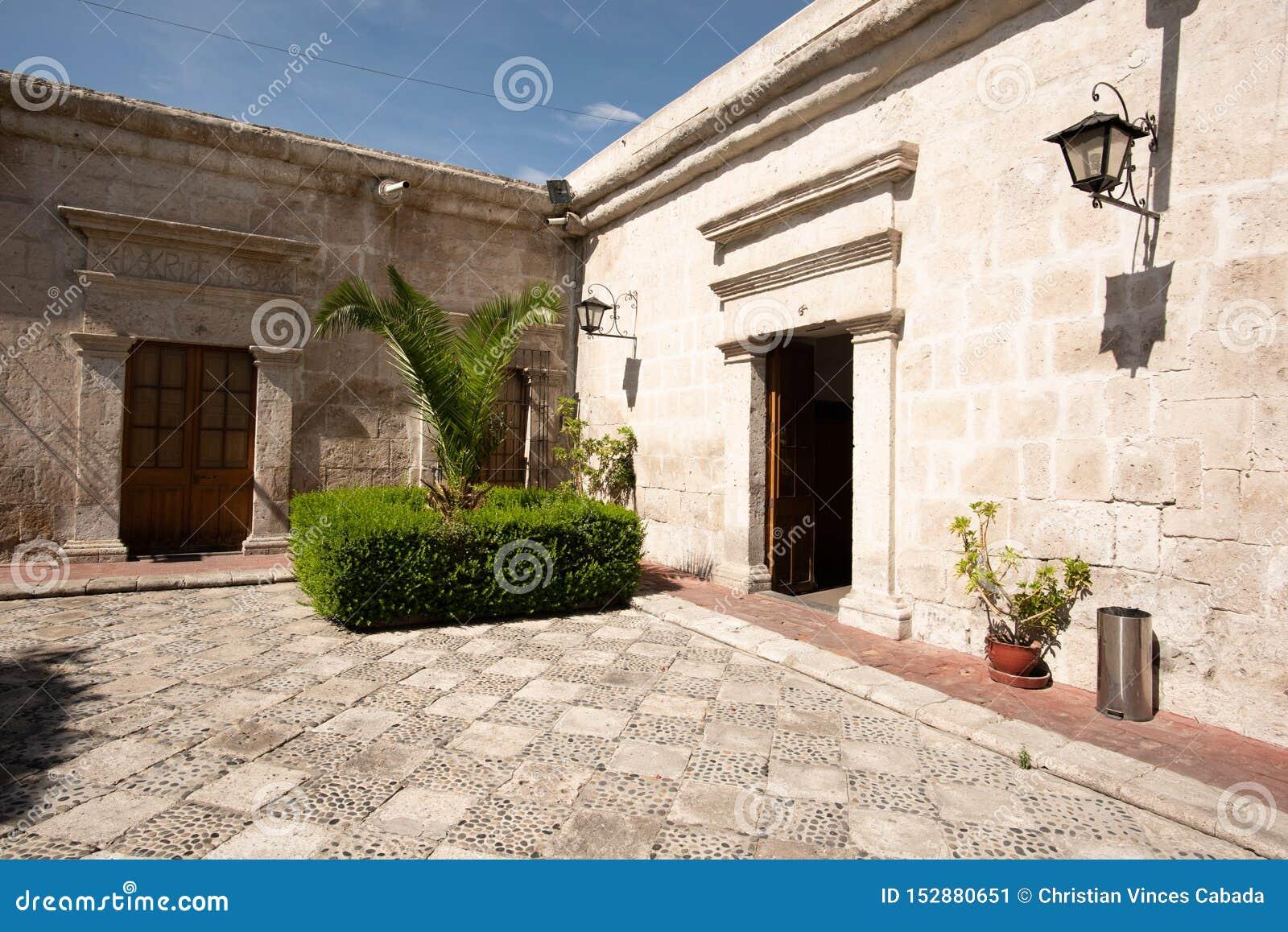 TRADYCYJNY SILLAR dom AREQUIPA, PERU