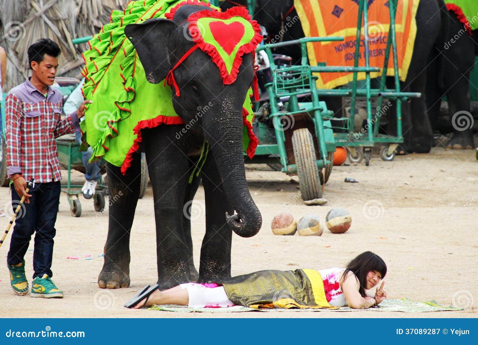 Download Tradycyjny Tajlandzki Przedstawienie W Nongnooch Ogródzie W Pattaya, Tajlandia Fotografia Editorial - Obraz złożonej z buddhist, ethnic: 37089287