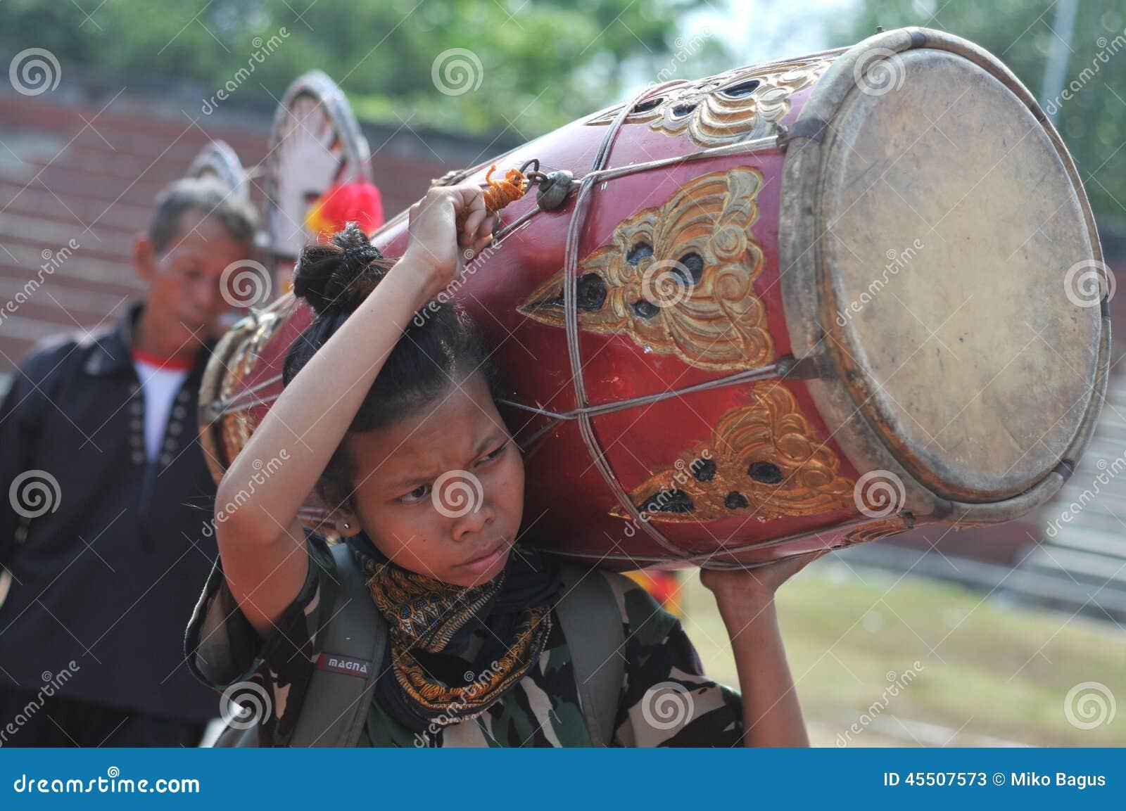 Tradycyjny taniec od Jawa